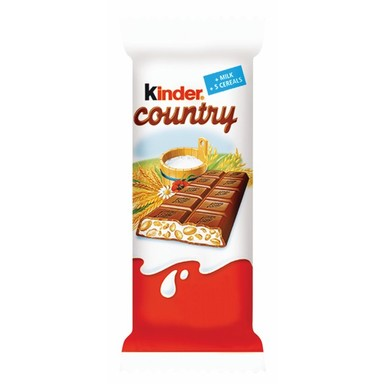 KINDER COUNTRY Piimašokolaad 23,5g