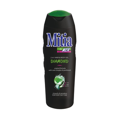 MITIA Dušigeel Diamond meestele 400ml