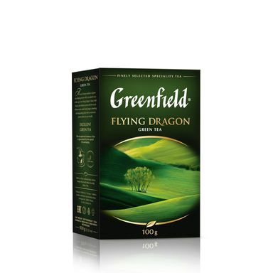 GREENFIELD Flying Dragon roheline tee 100g