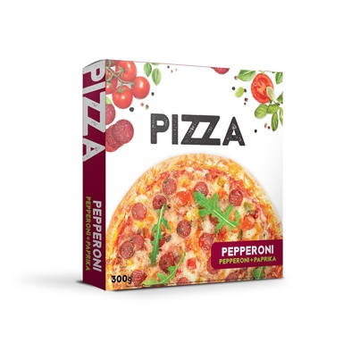 VICI Pitsa Pepperoni suitsutatud pepperoniga 300g
