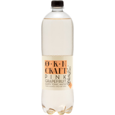 UUS! ØRN CRAFT Pink Grapefruit Tonic water 1l (pet)